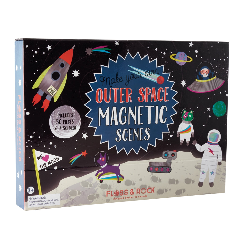Space Magnetic Play Scenes