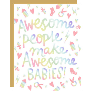 Awesome Babies Card