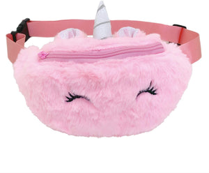 Kid's Plush Unicorn Fannypack
