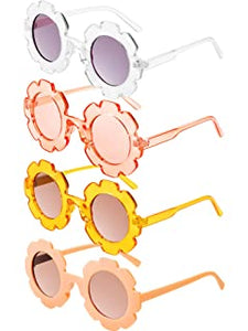 Jelly Flower Sunglasses