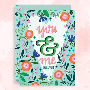 You & Me Forever Card