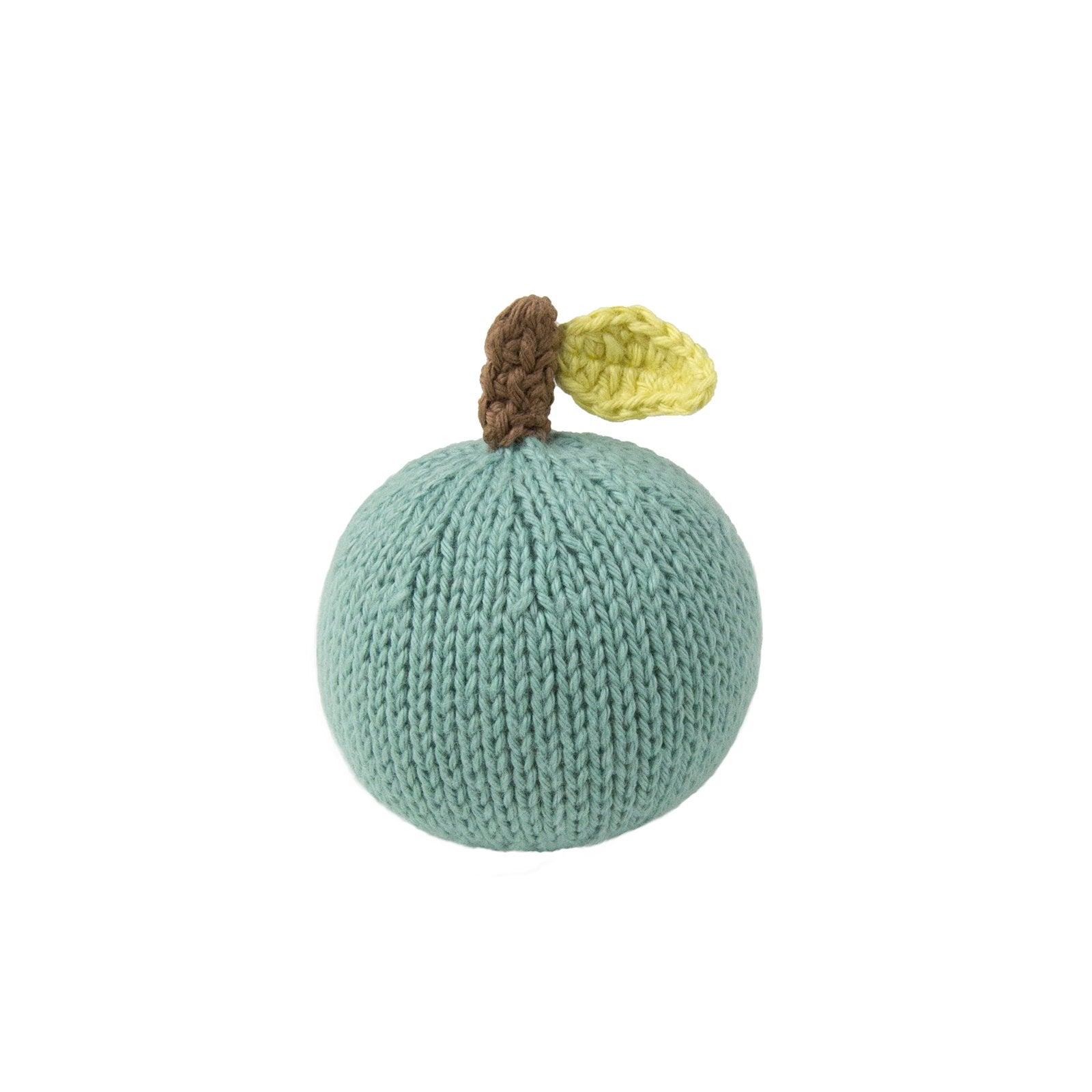 Knit Apple Rattle