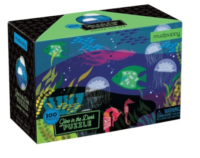 Under The Sea Glow-in-the-Dark Puzzle