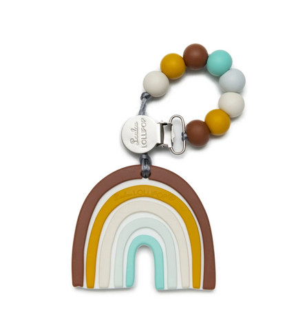 Neutral Rainbow Teether Set