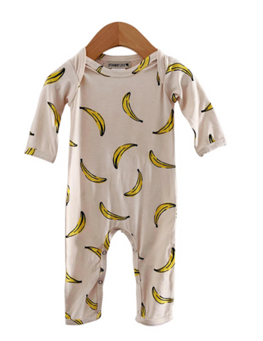 Banana Footless Romper