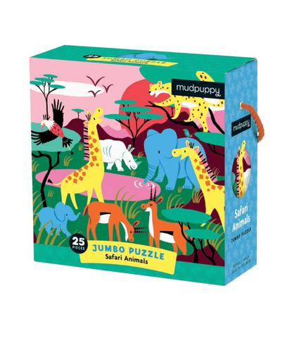Safari Animals Jumbo Puzzle