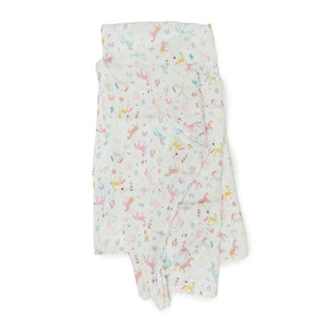 Unicorn Dreams Muslin Swaddle