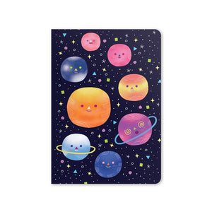 Planets Jot-It Notebook