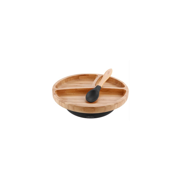 Bamboo / Silicone Suction Plate