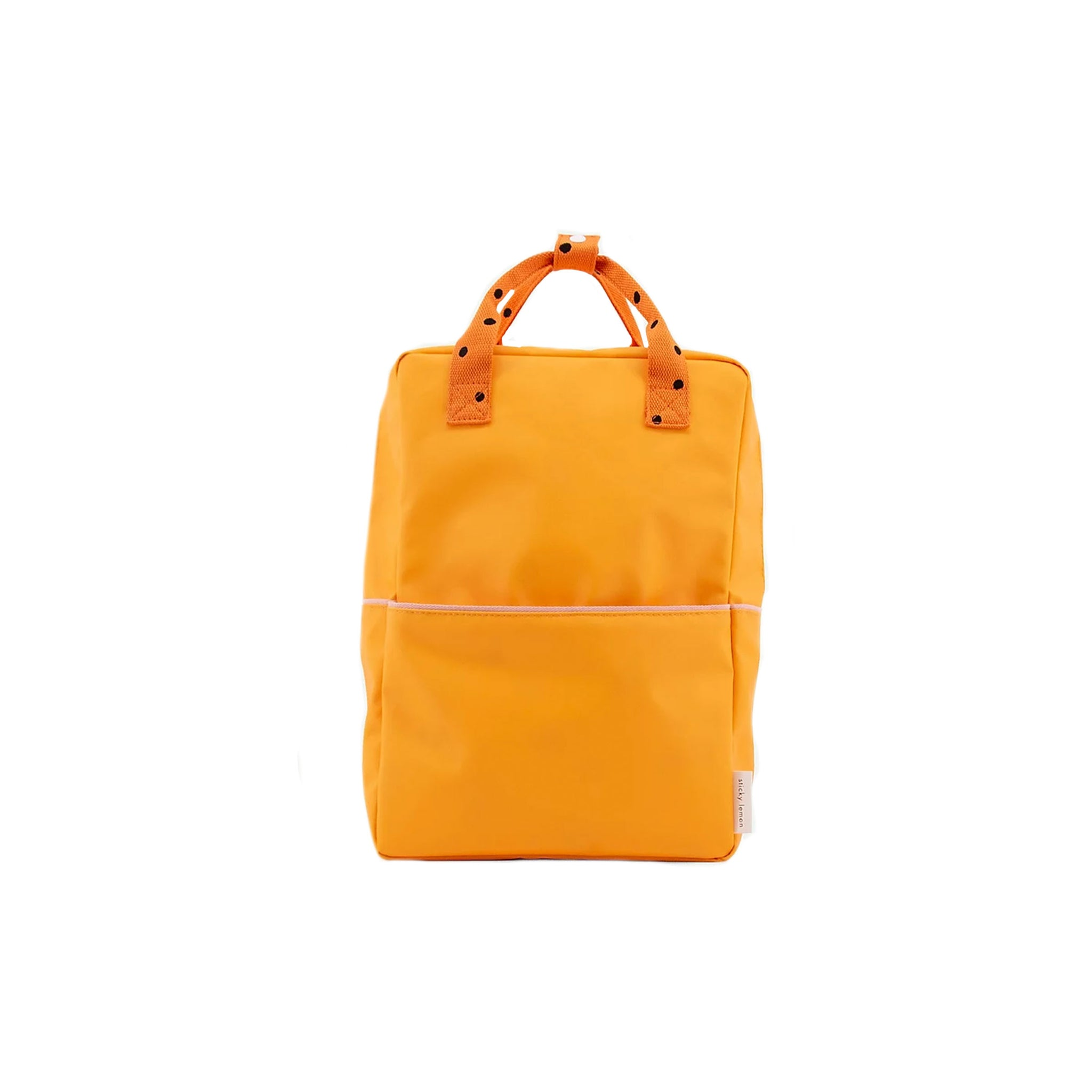 Large Freckles Backpack in Sunny Yellow