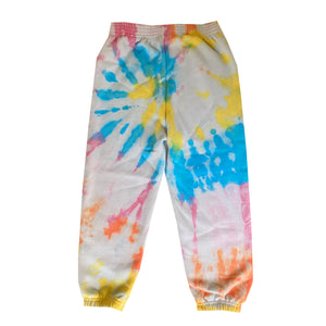 Multicolored Tie Dye Sweatpants