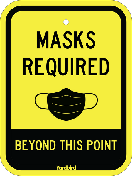 "9"" x 12"" Mask Required Sign INCLUDED"