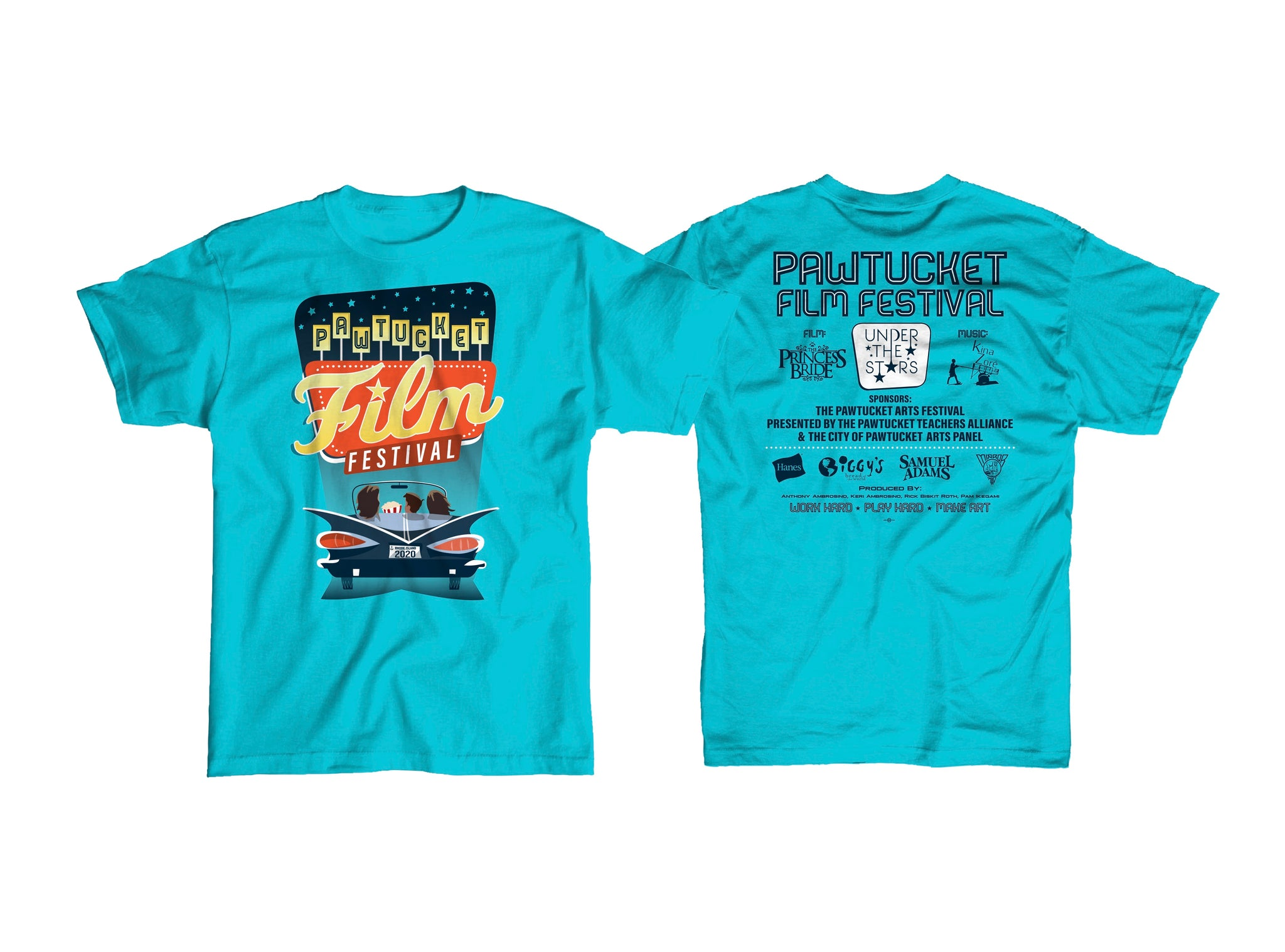 Pawtucket Film Festival 2020 T-shirt