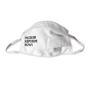 Prison Reform Now! Face Masks- Pack of 3