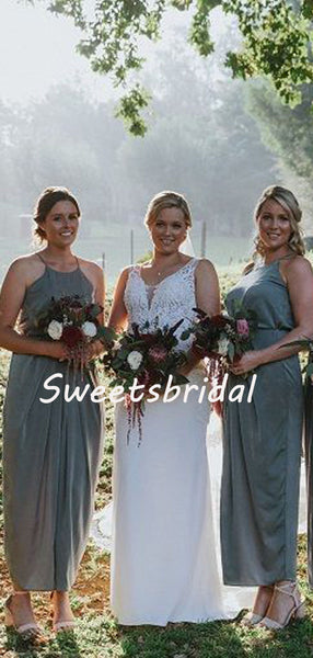 Charming Sleeveless Party Dresses Long Bridesmaid Dresses, SW1111