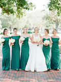 Charming Sweetheart Floor-length Long Bridesmaid Dresses, SW1121
