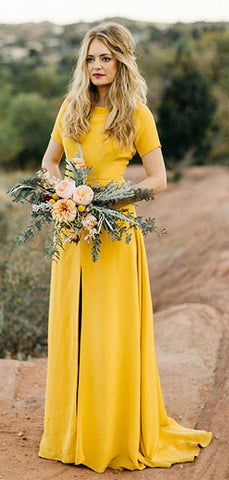 products/Bright_Yellow_Short_Sleeve_Front_Slit_Sheath_Long_Bridesmaid_Dresses_PB1068-2.jpg
