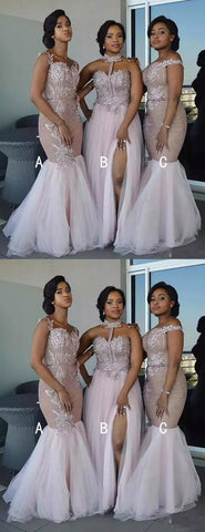 products/Dusty_Pink_Tulle_Applique_Mismatched_Mermaid_Bridesmaid_Dresses_DB135-2.jpg
