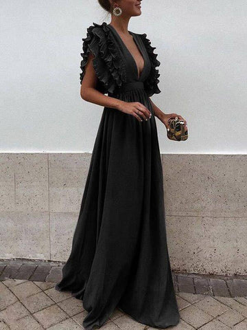 products/Grey_Chiffon_V_Neck_A_Line_Long_Bridesmaid_Prom_Dresses1.jpg