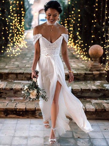 products/Ivory_Lace_Chiffon_Off_Shoulder_V-neck_Slip_Beach_Wedding_Dresses_DB0173-A_3.jpg