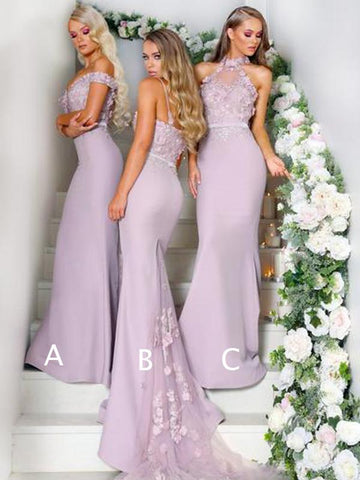 products/Mismatched_Lace_Appliuqe_Lilac_Elastic_Satin_Mermaid_Bridesmaid_Dresses_DB123-1.jpg
