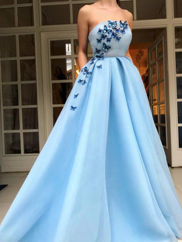 products/Pale_Blue_Satin_Strapless_Butterfly_Applique_Prom_Dresses_DB1096-1.jpg