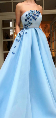 products/Pale_Blue_Satin_Strapless_Butterfly_Applique_Prom_Dresses_DB1096-3.jpg