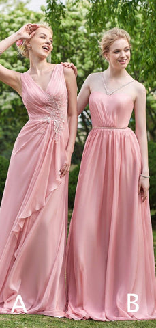 products/Pink_Chiffon_Mismatched_A-line_Long_Bridesmaid_Dresses_PB1061-4.jpg