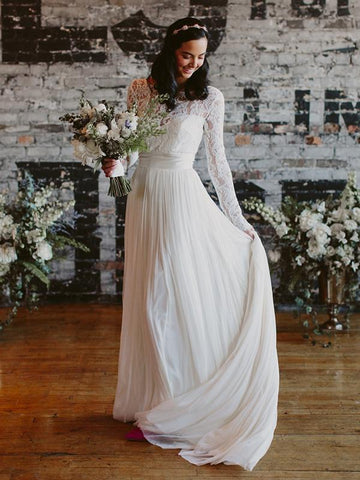 products/See_Through_Lace_Long_Sleeve_Ivory_Chiffon_Beach_Wedding_Dresses_DB0183-1.jpg