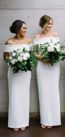 products/White_Jersey_Off_Shoulder_Sheath_Simple_Long_Bridesmaid_Dresses_DB130-2.jpg
