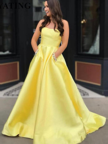 products/Yellow_Satin_Beaded_Pockets_Strapless_Ball_Gown_Sweet-16_Prom_Dresses_DB1123-1.jpg