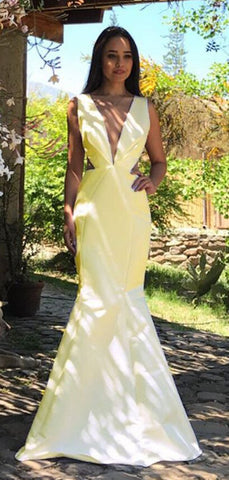 products/Yellow_Satin_V-neck_V-back_Mermaid_Sleeveless_Prom_Dresses_DB1112-2.jpg