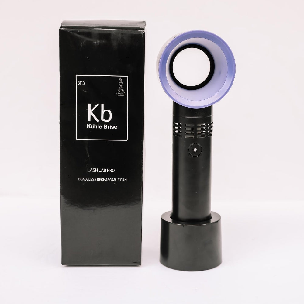 Kühle Brise Bladeless Re-chargeable Lash Fan