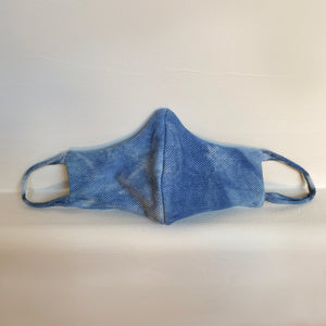 Indigo Dyed Face Mask - 3 Pack