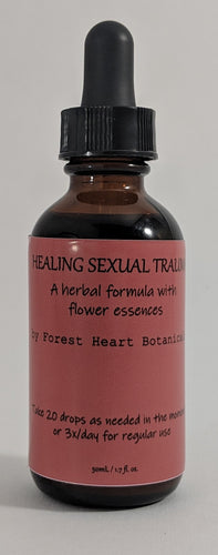 Healing Sexual Trauma Herbal Formula 50ml