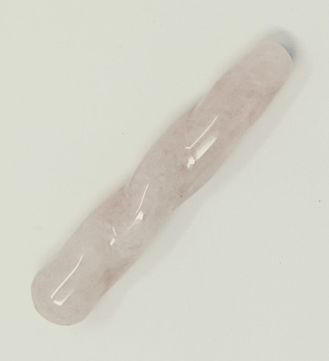 Small Rose Quartz Unicorn wand Massager