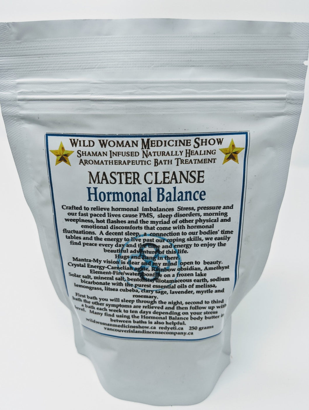 Master Cleanse ~ Hormonal Balance Bath Treatment 250g