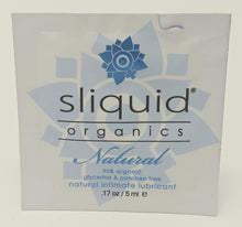 Load image into Gallery viewer, Sliquid Organics Natural Intimate Lubricant