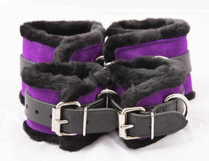 Faux Fur Cuffs (Set of 4)
