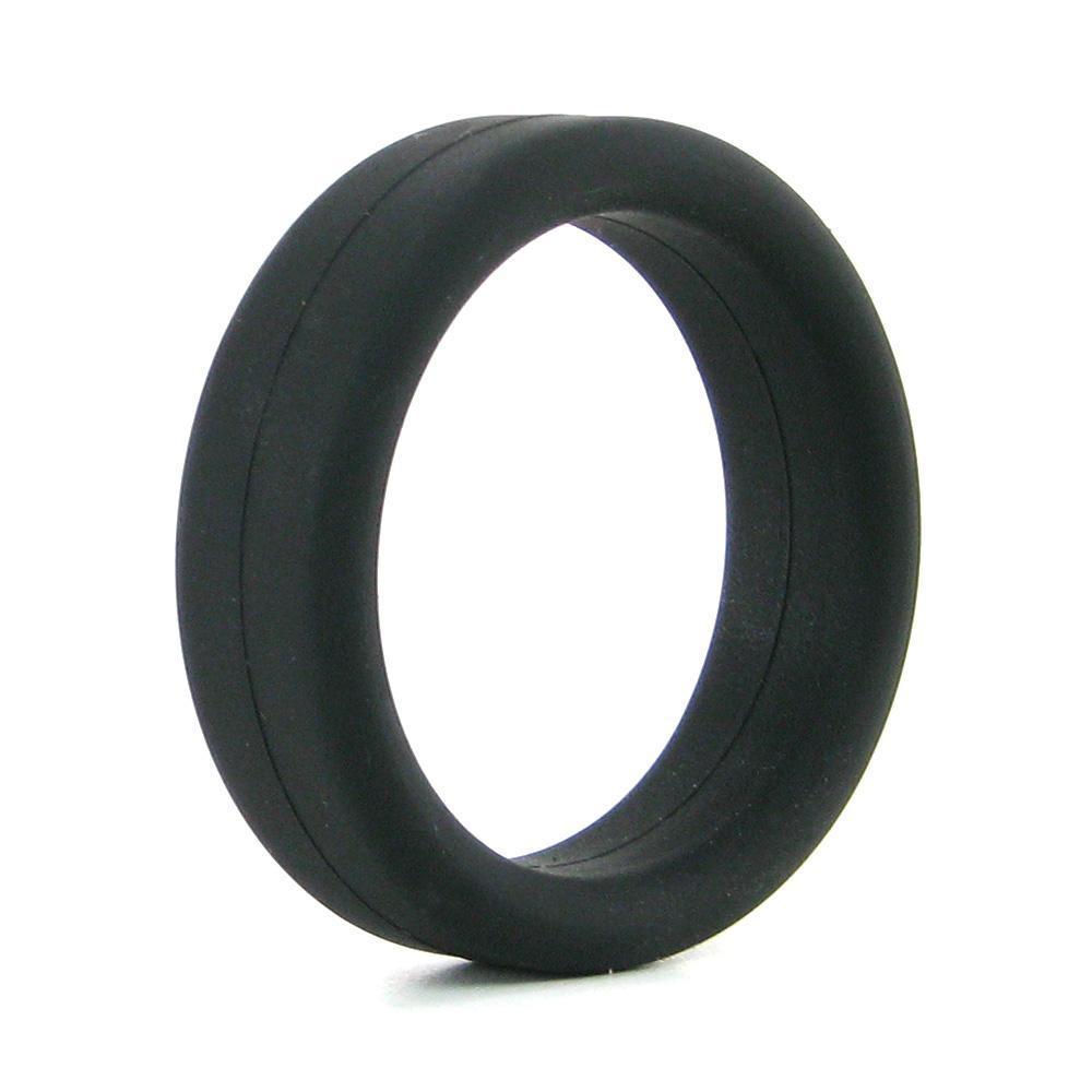 Supersoft C-Ring in Black