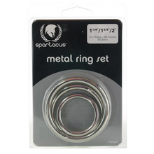 Load image into Gallery viewer, Metal Ring Set x3