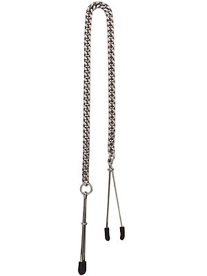 Tweezer tip Clamp with Chain