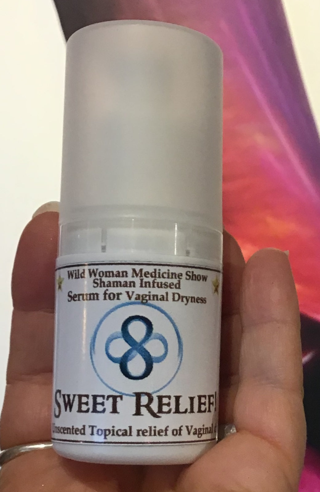 Sweet Relief ~ Serum for Vaginal Dryness ~ Shaman Infused 60ml