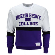 Morris Brown College Colorfield Crewneck - CORIN DEMARCO