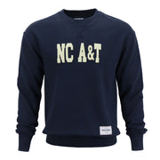 North Carolina A&T Letterman Crewneck - CORIN DEMARCO