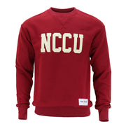 North Carolina Central Letterman Crewneck - CORIN DEMARCO