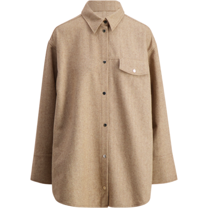 Bird Wool Shirt