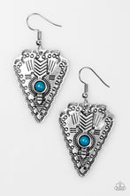 Load image into Gallery viewer, Paparazzi Aim True Blue Earrings