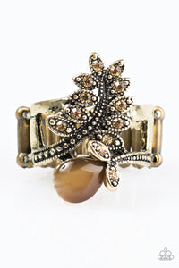 Paparazzi Amazingly Autumn Brass Ring