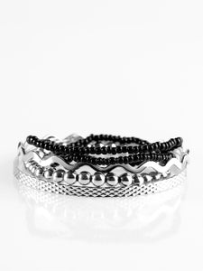 Paparazzi Amazon Style Black Bracelets